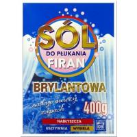 BRYLANTOWA Sól do Płukania Firan Zasłon - 400g HIT!