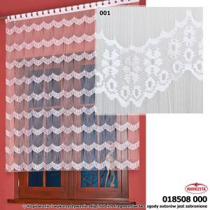 Makarony, panel z frędzli 280x160cm