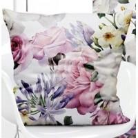 POSZEWKA dekoracyjna na poduszkę 40x40 kwiaty 118