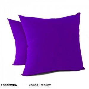 Poszewka na poduszkę Jasiek 50x50cm - fiolet